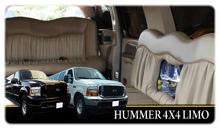 Hummer Limo Hire Taunton And Somerset. 16 Seater 4x4 'Hummer' Style